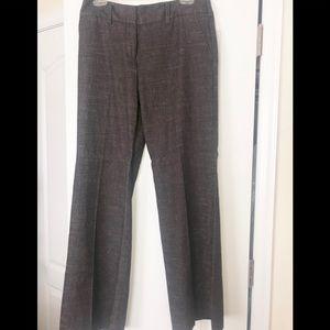 Iz Byer CA Brown Tweed Dress Pants (Juniors)